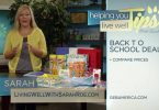 Living Well with Sarah Roe – Back to School Deals