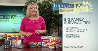 Living Well With Sarah Roe – Big Family Survival Tips