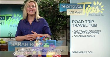 Living Well With Sarah Roe – Travel Tub & Busy Bags