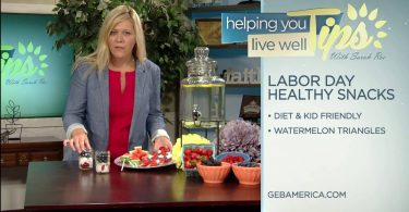 Living Well with Sarah Roe – Healthy Labor Day Snacks