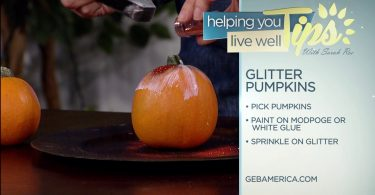 Living Well With Sarah Roe – Glitter Pumpkins