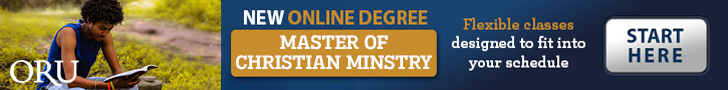 ORU New line degree Master of Christian Ministry. Flexible classes designed to fit your schedule. - Start Here