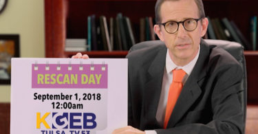 Rescan Day September 1, 2018 at 12:00 am for KGEB TV 53 Tulsa