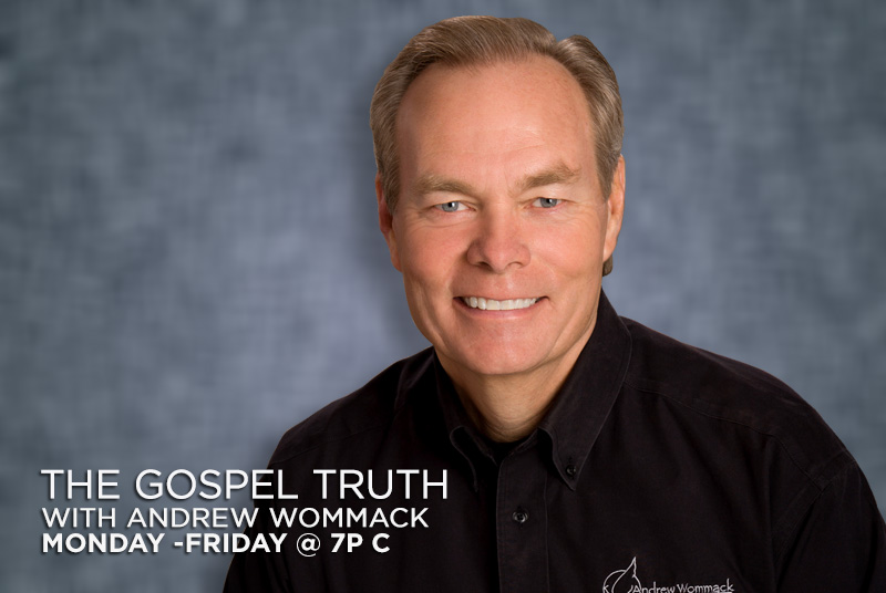 The Gospel truth with Andrew Wommack Monday-Friday @ 7pm