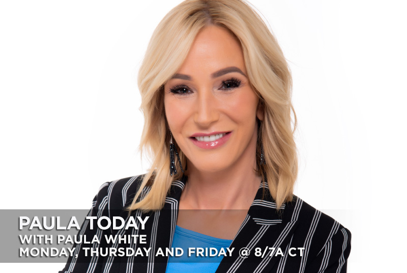 Paula Today with Paula White Monday, Thursday, Friday @8/7a CT