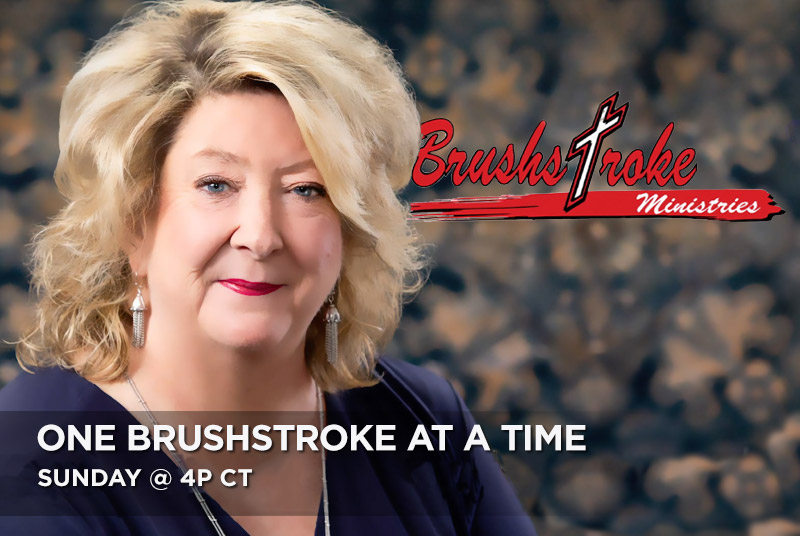 One Brushstroke at a Time with Jenny Pfister Sunday @ 4pm CT