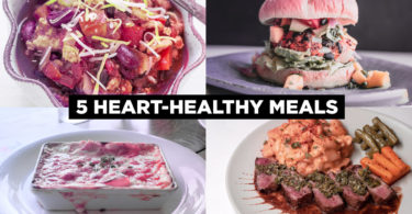 5 Heart Healthy Meals