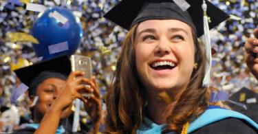 ORU female graduate